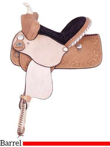 "13"" American Saddlery Youth Pro Barrel Racing Saddle 708"