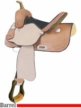 "13"" Billy Cook Feather Junior Barrel Saddle 291269"