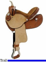 "** SALE **13"" Dakota Child's Trail Saddle 910s"