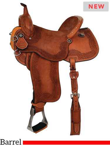 Reinsman Sharon Camarillo Diva Barrel Racing Saddle 4210 w/Free Pad