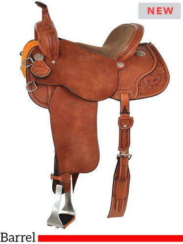 "13"" to 15"" Reinsman Sharon Camarillo VIP Barrel Saddle 4211 w/Free Pad"