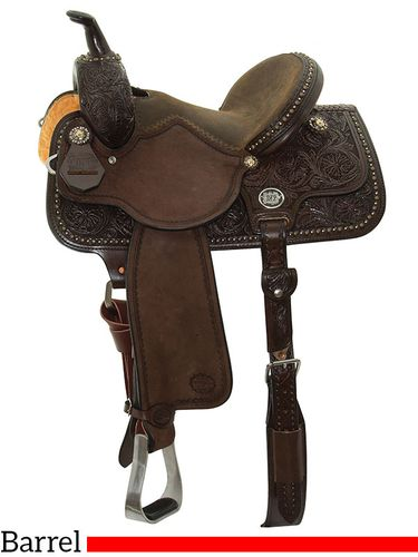 """13"""" to 15"""" Reinsman Molly Powell Vintage Cowgirl Barrel Racer 4265 w/Free Pad"""