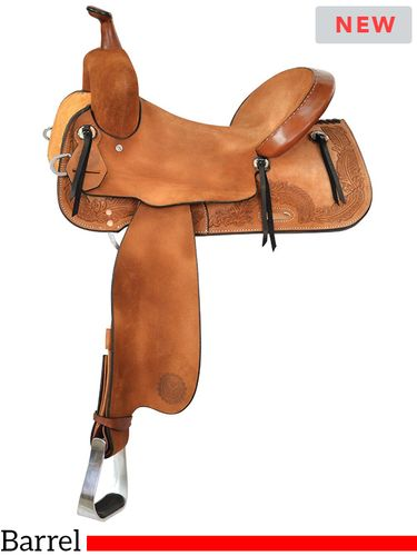 """13"""" to 16"""" Circle Y Edna Barrel Racer 2205 w/Free Pad"""