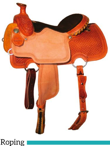 "13"" to 16"" Reinsman All Around Roper Saddle 4504 w/Free Pad"