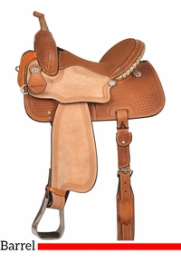 "13"" to 16"" Reinsman Barrel Racing Saddle 4203 w/Free Pad"