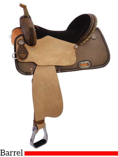"""13"""" to 16"""" Circle Y Mercedes Barrel Racer 2165 w/Free Pad"""