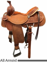 "** SALE **13"" to 17"" Double J All Around Saddle SEP00-64586"