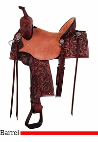 "13"" to 17"" Double J Pozzi Pro Barrel Racer SBP730"