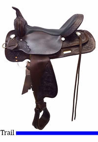 High Horse Mineral Wells Trail Saddle 6812 w/Free Pad