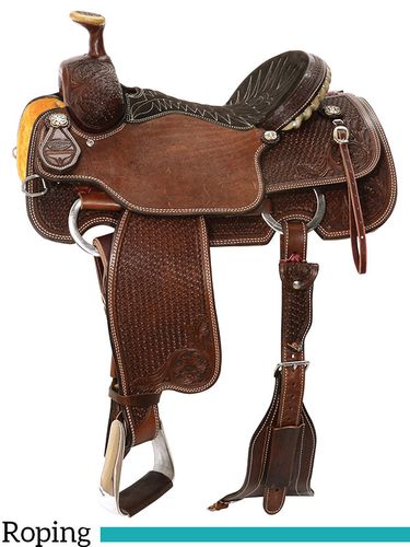 "13"" to 17"" Reinsman TM Roping Saddle 4413 w/Free Pad"