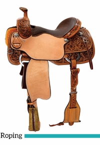 "13"" to 17"" Reinsman TM Roping Saddle 4414 w/Free Pad"