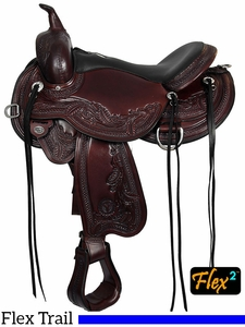 Circle Y Julie Goodnight Wind River Flex2 Trail Saddle 1750