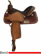"13.5"" to 16"" Billy Cook Barrel Racing Saddle 1530"