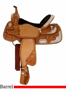 "14"" to 16"" Billy Cook Silver Barrel Racer 2000"