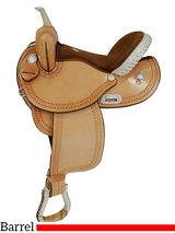 "** SALE **14"" to 16"" Premium Dakota Barrel Saddle 342"
