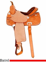 "** SALE **14"" to 16"" Billy Cook Classic Barrel Racing Saddle 2031"