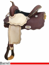"14"" 15"" Billy Cook Wave A Smokin Barrel Saddle 291217"