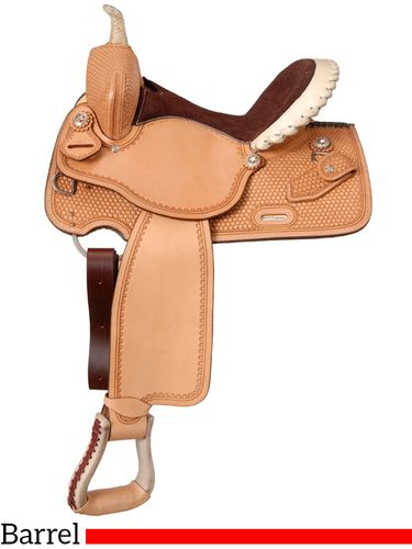 "14.5"" to 15.5"" Silver Royal Elite Barrel and Competition Saddle 251"