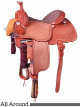 "** SALE **13.5"" to 17"" Martin Saddlery High Plains All Around Saddle mr14MDS"