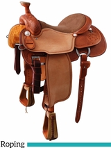 "13.5"" to 17"" Martin Saddlery RG Ricky Green Team Roper mr25DFMB"