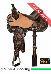 "14.5"" Circle Y KL Big Iron Flex2 Mounted Shooting Saddle 2405, CLEARANCE"