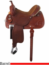 "12.5"" to 15.5"" Martin Saddlery Sherry Cervi Crown C Custom Barrel Racer 97-C2"