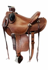 14.5Inch Used Arrowhead Saddlery Ranch Saddle 65152001 *Free Shipping*