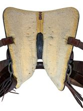 14.5Inch Used Big Horn Trail Saddle 1915 *Free Shipping*