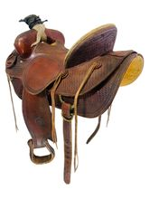 SOLD 2021/04/12  14.5Inch Used Billy Cook Ranch Saddle 2176 *Free Shipping*