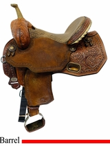 14.5Inch Used Circle Y Josey Ultimate Revolution Flex2 Saddle 1185 uscy4525 *Free Shipping*