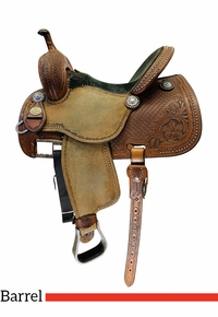 14.5Inch Used Martin Sherry Cervi Crown C Barrel Racer 97 *Free Shipping*