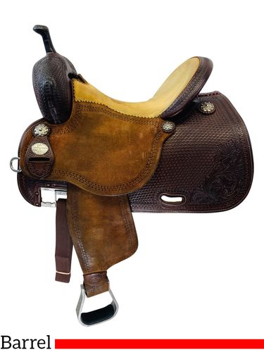 PRICE REDUCED! 14.5Inch Used Martin Sherry Cervi Crown C Barrel Saddle  *Free Shipping*