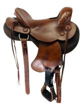 SOLD 2019/10/25  PRICE REDUCED! 14.5Inch Used Ortho-Flex Endurance Saddle 1547 *Free Shipping*