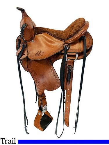 SOLD 2021/04/14  14.5Inch Used Syndergist Trail Saddle 3182 *Free Shipping*