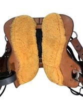 PRICE REDUCED!! 14.5Inch Used Synergist Custom Lightweight Trail Saddle *Free Shipping*