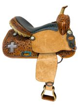 SOLD 2021/03/02  14.5Inch Used Teskeys Competition Series Barrel Saddle Custom *Free Shipping*