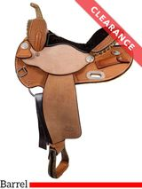 """14"""" Billy Cook Barrel Saddle 1526, CLEARANCE"""