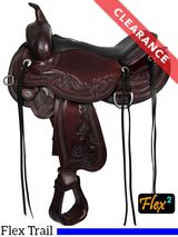 "15"" Circle Y J Goodnight Wind River Flex2 Trail Saddle 1750 CLEARANCE"