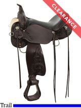 "14"" High Horse Mesquite Trail Saddle 6864, CLEARANCE"