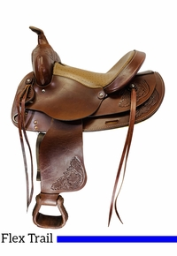 14 Inch Used American Youth Trail Saddle 524 *Free Shipping*