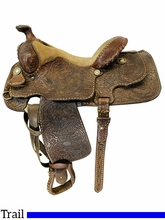 14 Inch Used Billy Cook Saddlery Trail Saddle Maker *Free Shipping*