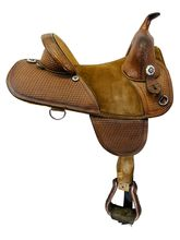 14 Inch Used Bob Marshall by Circle Y Barrel Saddle 3530 *Free Shipping*