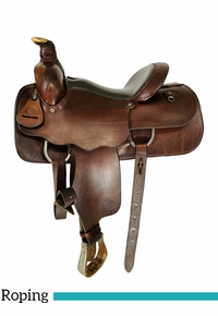 14 Inch Used Colorado Roping Saddle 8277 *Free Shipping*