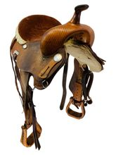 PRICE REDUCED! 14 Inch Used Courts Lightweight Short Barrel Saddle 31794 *Free Shipping*