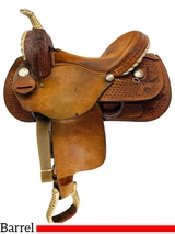 14 Inch Used Dakota Pleasure Barrel Saddle 355 *Free Shipping*
