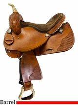 14 Inch Used Guffey Saddlery Lightweight Barrel Racer *Free Shipping*
