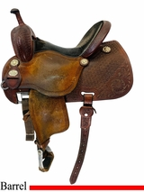 PRICE REDUCED! 14 Inch Used Martin Sherry Cervi Crown C Saddle 97 usmr4518 *Free Shipping*