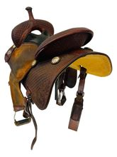 SOLD on LAYAWAY 2019/06/05 PRICE REDUCED! 14 Inch Used Martin Sherry Cervi Crown C Saddle 97 usmr4518 *Free Shipping*