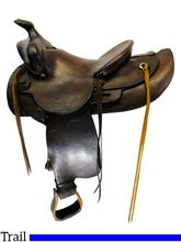 14 Inch Used Pat Connolly Trail Saddle Custom *Free Shipping*