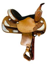 14 Inch Used TexTan AQHA Collection Youth Show Saddle -123238 *Free Shipping*